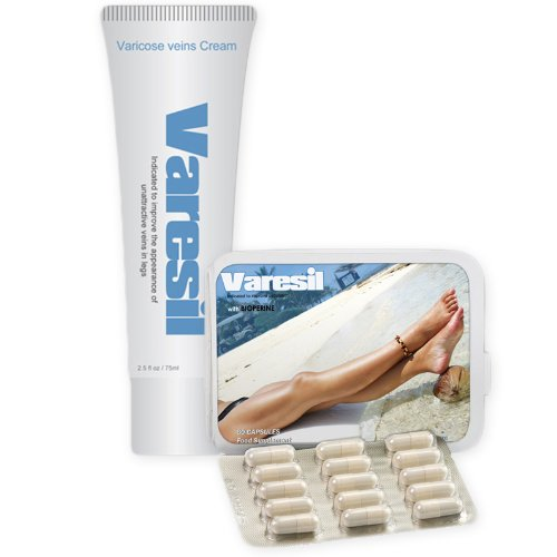 Varesil Pack- Prevention and Treatment For Varicose Veins