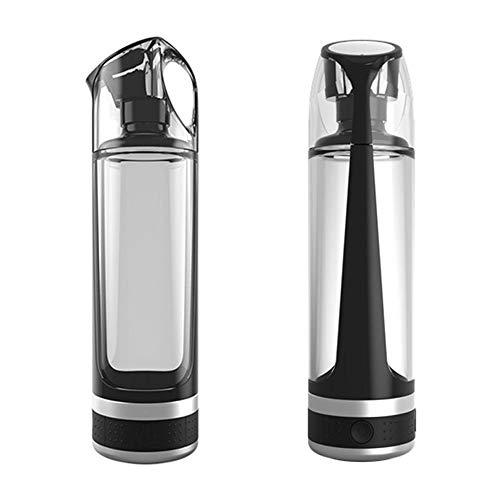 YASHANG Wasserstoff Trinkflasche Wasser Flasche, Elektrolytbecher, USB Wiederaufladbar, Intelligentes Anion, Elektrolysiertes Wasser, Antioxidans, Energiebecher 500ml