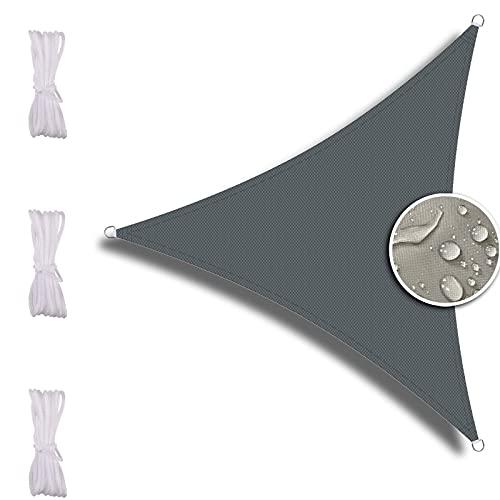 Tiop Sun - Toldo impermeable con protección UV, incluye cuerdas de fijación