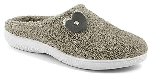 inblu Pantofole Ciabatte Invernali Donna Art. BS-42 Spugna Corda New (Numeric_35)