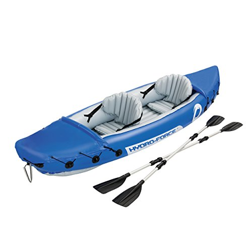 HydroForce Lite-Rapid X2 Inflatable Kayak w/ Oars