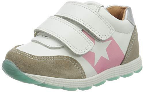 Bisgaard Mädchen Liam Sneaker, Mehrfarbig (White/Silver 2304), 35 EU