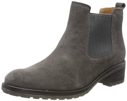 Gabor Damen Fashion Stiefeletten, Grau (Pepper (EL.Wave) 19), 42.5 EU