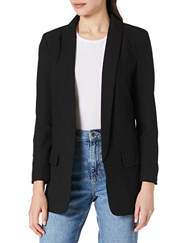 Only ONLCECILI Long Blazer CC TLR, Black, 42 para Mujer