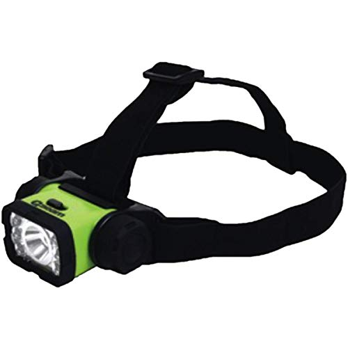 Qbeam 7 LED Headlight, Green and Red LED's