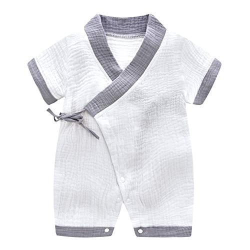 Baby Romper pyjama, Cotton Long/Short mouw peuters Jongens Meisjes nachtkleding, Jumpsuit voor 0-24 maanden Pasgeboren