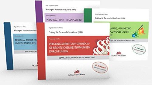 Personalfachkaufleute - Lernkarten Komplettpaket Handlungsbereich 1 bis 4