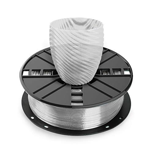 NOVAMAKER PETG 3D Printer Filament 1.75, Transparent 1.75mm PETG Filament, PETG 1kg(2.2lbs), Dimensional Accuracy +/- 0.03mm