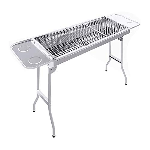 Learn More About QAZ Home Barbecue Grill Outdoor Barbecue Stove Smokeless Thick Stainless Steel Barb...