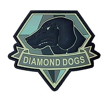 Diamond Dogs Metal Gear Solid Tactical Patch [3D-PVC Rubber-3.0 X 2.6 -DG5]