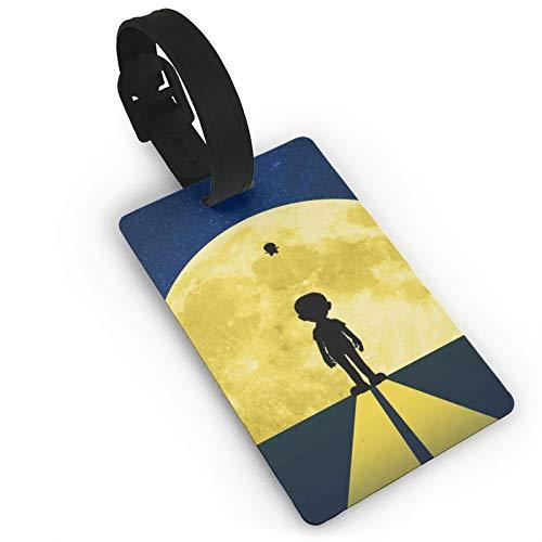 Gepäckanhänger Moon Light Do-Rae-Mon, Anime ID Tags Karte, Travel Tags für Koffer Kofferraum Privatsphäre Fashion Cover Namensschilder 9,4 x 5,6 cm