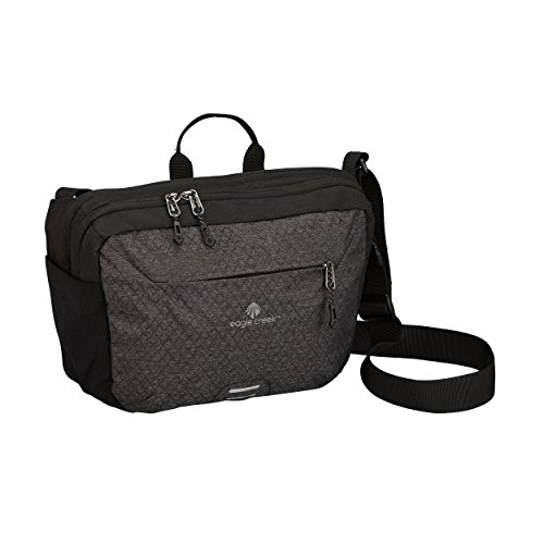 Eagle Creek Wayfinder Crossbody Travel Bag, Black/Charcoal