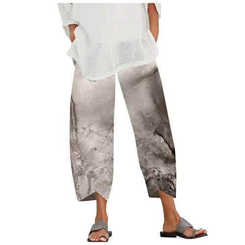 PLENTOP Lounge Pants Women Womens Comfy Drawstring Solid Color Casual Elastic Waist Pocket Shorts Pants Blue