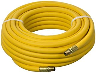 Yellow 300 psi 50 Length x 3//8 ID Kuriyama Kuri Tec HS1231  Series High Grade Low Temperature Air Hose Assembly with Rubber Bend Restrictors