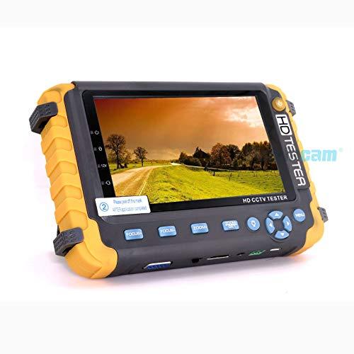 Monitor de 5 pulgadas TFT LCD HD 5 MP TVI AHD CVI CVBS cámara de vigilancia analógica Tester Monitor en un Tester CCTV VGA HDMI Entrada IV8W
