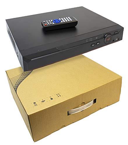 16 Channel Penta-Brid 4K 4MP IP XVR DVR NVR Recorder OEM Dahua HD CVI TVI AHD