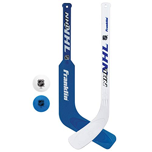 Franklin Sports Indoor-Outdoor Mini Hockey Stick And Ball Set For Kids!