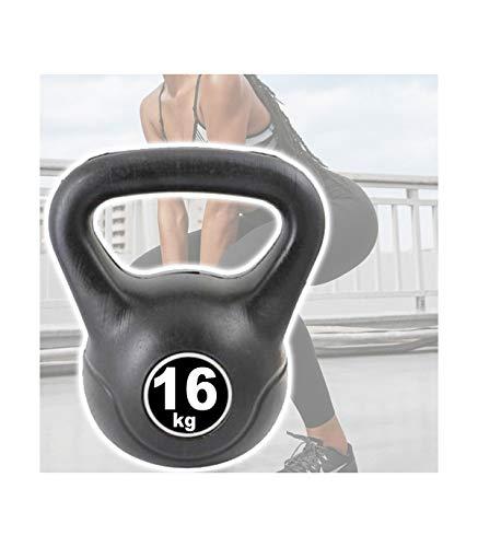 kettlebell da 16 kg TradeShop - Manubrio Kettlebell da 16 kg Peso con Maniglia Ginnastica Fitness ERGONOMICO - 30598