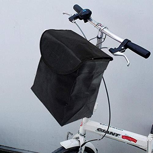 Piero 1PCS fietsmand voor op het mandje Basketmandoekmand, zwart