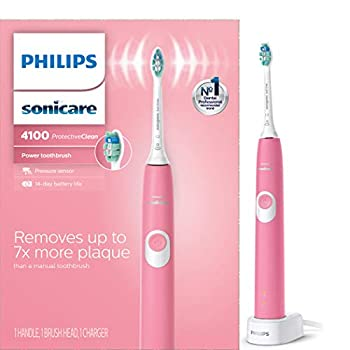 Philips Sonicare ProtectiveClean 4100 Rechargeable Electric Toothbrush  Deep Pink