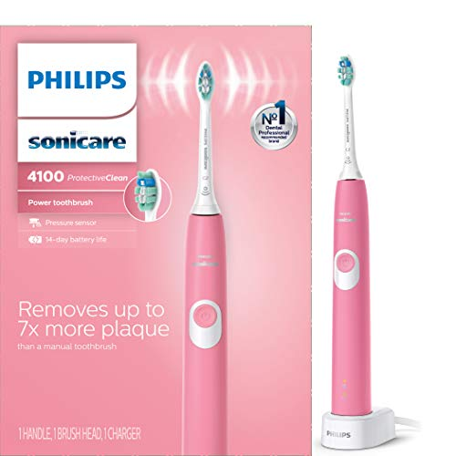 Philips Sonicare ProtectiveClean 4100 Rechargeable Electric Toothbrush , Deep Pink HX6815/01