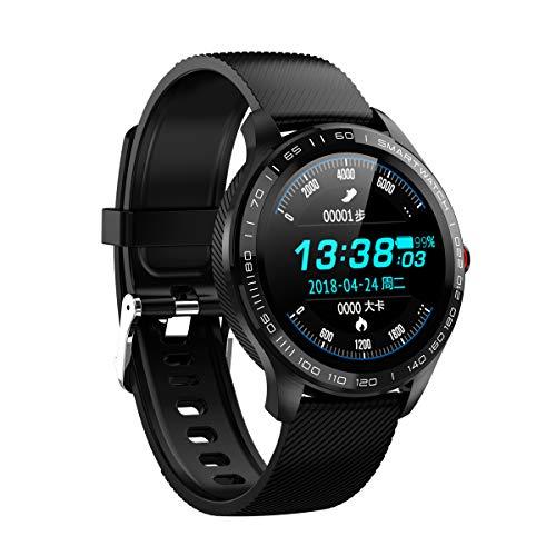 YOJINKE Smartwatch Fitness Tracker Wasserdicht IP68 Fitness Armband mit Pulsmesser Blutdruckmessung Smartwatch Aktivitätstracker Schrittzähler Uhr Sportuhr für für Damen Herren