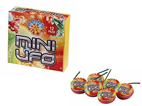 Zeus Party Mini UFO girandola Tre Colori da Bambini per Capodanno