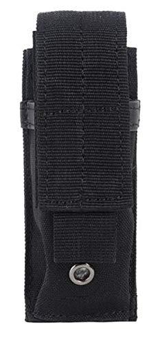 AccessoryHappy Premium Belt Tactical Holster Fast Mag Carry Pouch MOLE System fits Single Pistol Magazine, Knife, Flashlight, Baton, tazers EDC Organizer Molle Pouch EMT Mini Scissor Tool Pouch Holder