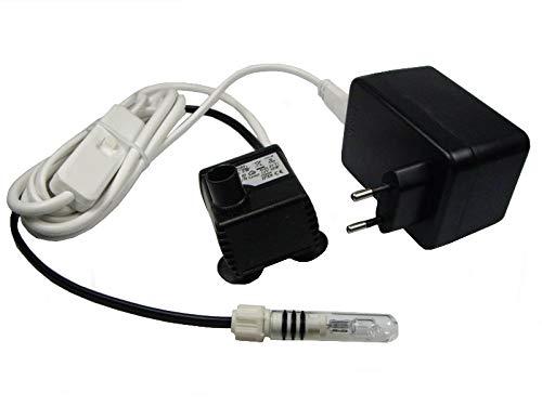 Eden Pumpe 106L mit Licht und 3-Wege-Schalter - 0,5 m Förderhöhe …