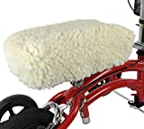 KneeRover Universal Knee Scooter Knee Pad Cover with Plush Synthetic Sheepskin