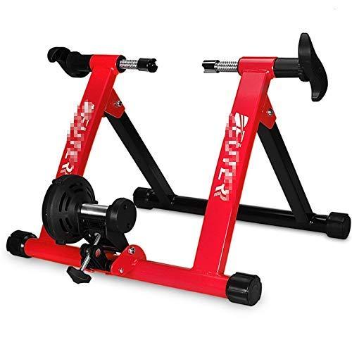 Soporte de Ciclismo magnético para Bicicleta de Interior Turbo Trainer, Soporte para Bicicleta estacionaria de Servicio Pesado, Soporte para Bicicleta de 350 LB con liberación rápida , Profesional D