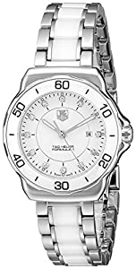 Tag Heuer Women's WAH1315.BA0868 'Formula 1' Stainless Steel Sport Watch with Diamonds image