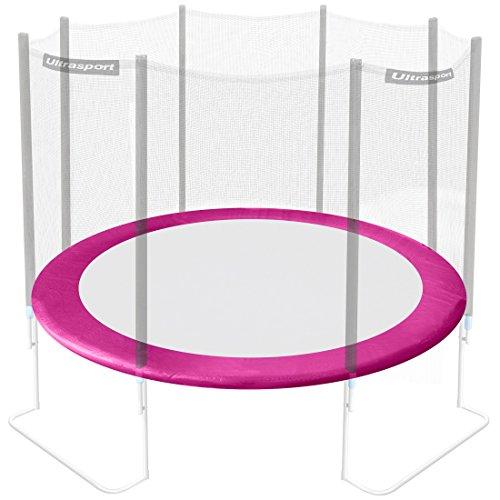 Ultrasport randafdekking voor tuintrampoline Jumper, trampoline-randbescherming, veerafdekking, trampoline-reserveonderdeel, blauw, geschikt voor trampolines van Ø 180-430 cm