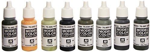 Model Color Set - German Field Grey Uniform Set di colori  - VAL70181