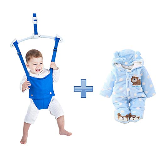 Baby Hoody Jumpsuit Outfit Winter Coat 0~3 Months and Baby Door Jumper Set