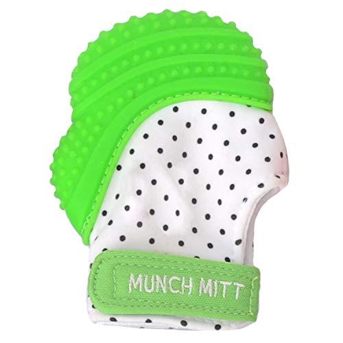 Mouthie Mitten–Guantino massaggia gengive per la dentizione in silicone–Colori assortiti
