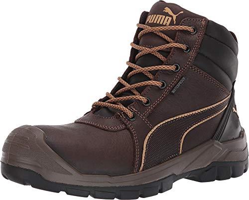 PUMA Tornado 630785 Mens Brown Comp Toe Mid EH Work Boots