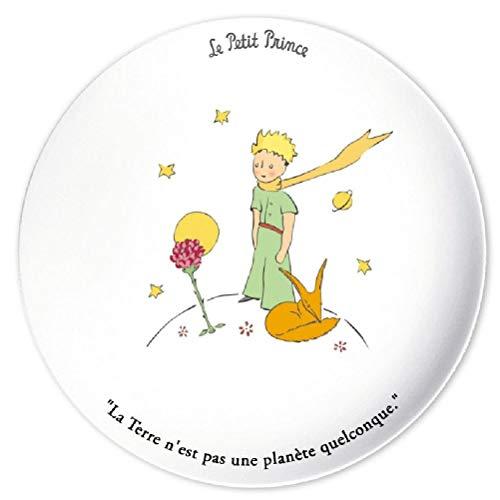 Plat à tarte Le Petit Prince, la rose et le Renard\