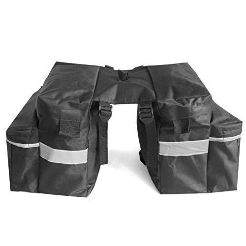 Emoshayoga Alforjas para Bicicleta Bolsa de sillín Bolsa de Transporte de Gran Capacidad con Material de poliéster para Colocar Botellas de Agua Paraguas Llaves