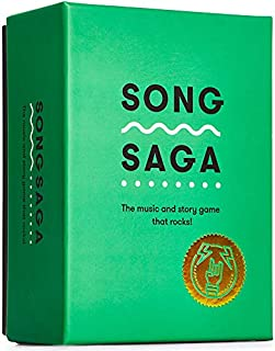 SONG SAGA IS THE SONG AND STORY GAME THAT ROCKS! Break into the memory bank, share the stories and soundtrack of your lif...
