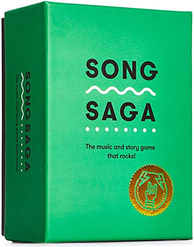 Song Saga - The Music and Story Game That Rocks! 2+ Players, Ages 13+ Connect Through Songs and Storytelling