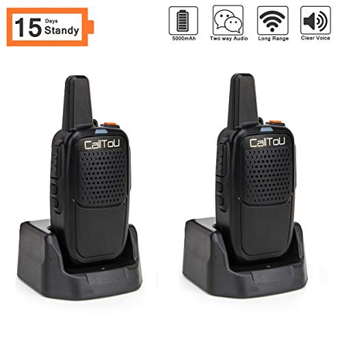 Intercoms Wireless for Home Portable Caregiver Pager 15 Days Long Standy 2 Miles Wireless Intercom...