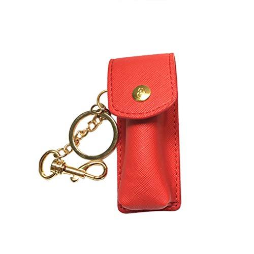 Heallily Étui à Rouge à lèvres Fashion avec Porte-clés Chapstick