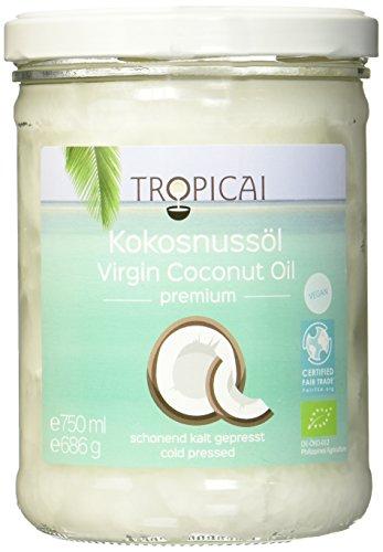 Tropicai - Reines Fair-Trade Bio-Kokosöl - zum genießen und verwöhnen - Philippinen - 750 ml