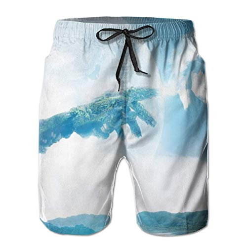 Love girl Shorts de Playa de Secado rápido para Hombres, Arte Digital,...