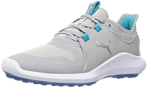 PUMA 194241, Zapatos de Golf Mujer, Alto Rise Plata Scuba Azul, 40 EU