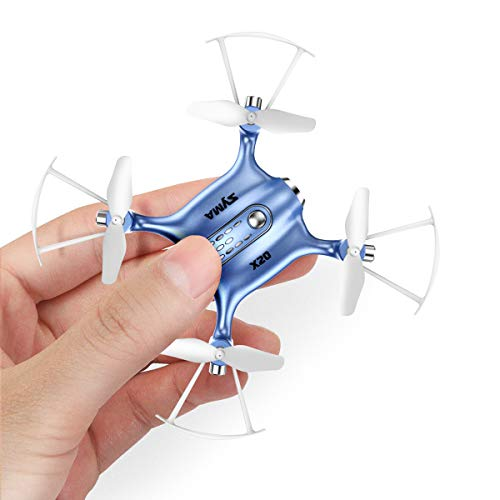 Mini Drones for Kids or Adults, RC Drone Helicopter Toy, Easy Indoor Small Flying Toys for Boys or Girls Blue