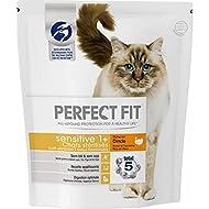Perfect Fit Total 5 Sterilised Sensitive Cat Food 1+ Turkey 1.4 kg (Pack of 3)