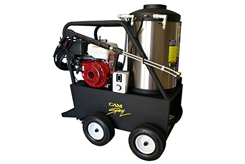 diesel powered pressure washers Cam Spray 3040QH Q Series Portable Diesel Fired Gas Powered Hot Water Pressure Washer, 3000 psi, 50' Hose