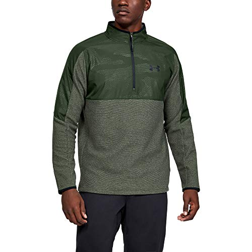 Under Armour Herren Oberteil CGI 1/2 Zip, Grün, XXL, 1345315-310